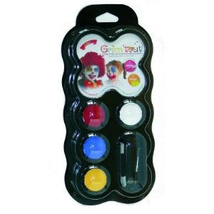 Grim Tout Maquillage : palette 4 couleurs Clown