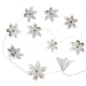 "Guirlande LED ""10 Fleurs"" 23cm Blanc Prix"