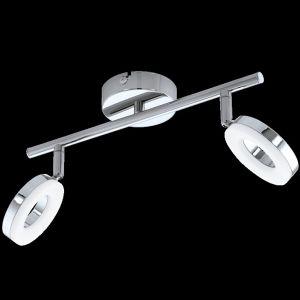 Eglo Spot GONARO LED Chrome, 2 lumières