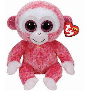 Ty Beanie Boos - Ruby le Singe rose 24 cm