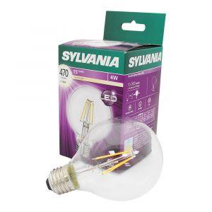 Sylvania LAMPE LED TOLEDO RETRO G80 470 LM - CLAIR - 4 W - E27 - LAMP0027170