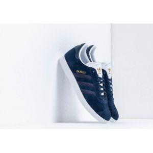Adidas Gazelle W, Chaussures de Gymnastique Femme, Bleu Collegiate Navy/FTWR White, 38 2/3 EU