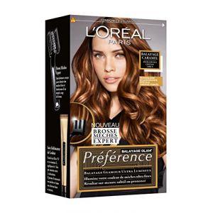 L'Oréal Preference Balayage caramel pour cheveux châtains à bruns