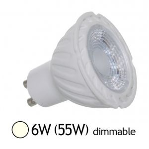 Vision-El Spot Led 6W (55W) GU10 Dimmable Angle 38° Blanc jour 4000°K -