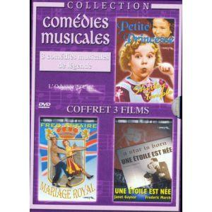 Coffret Comedies musicales - Petite Princesse + Mariage royal + Une étoile est née