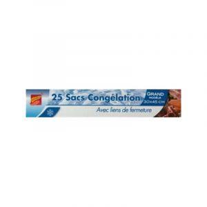4543ce545faaa PUBLI EMBAL Lot de 50 sacs de congélation Moyen Modèle ...