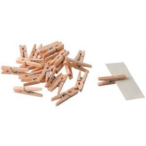 pince a linge bois comparer 123 offres. Black Bedroom Furniture Sets. Home Design Ideas