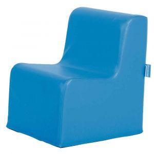 Chauffeuse housse PVC bleu