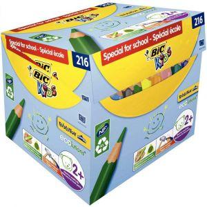 Bic kids - 944077 - Crayon de couleur evolution triangulaire pointe moyenne - Maxi cl