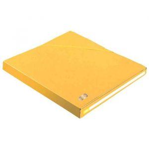 Chemise ALPINA EUROFOLIO - dos 25 mm - coloris Jaune - Carton de 10