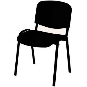 Chaise visiteur playside noir