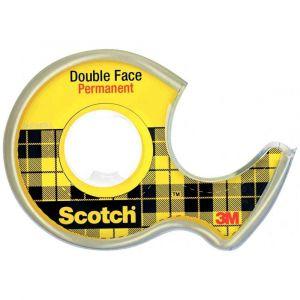 SCOTCH - Rouleau double face 12mmx6m