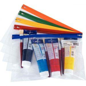 Fourre-tout 'ZIPPA BAG' format A4++ - Paquet de 5