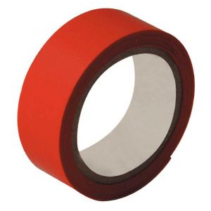 Rouleau adhesif toile 19x2,7m rouge