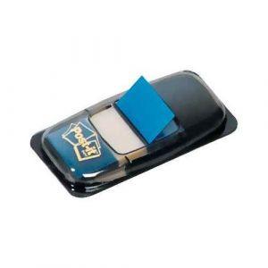 Index Post-it repositionnable bleu 25mm - Carte de 50