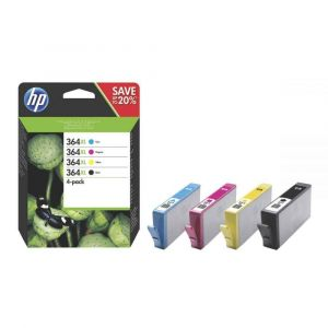 HP - N9J74AE - Cartouche Noir et Couleur 364XL