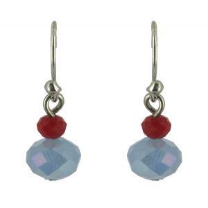 Boucles d'oreilles - Perles à facettes.