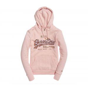 Sweat à capuche Superdry Logo Sequin Femme