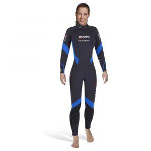 Mares Monosuit Pioneer 7mm She Dives XS Black / Blue