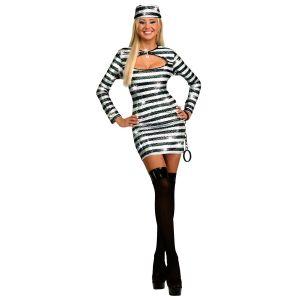Déguisement Sexy Prisonnière De L'Amour - Femme - Taille S
