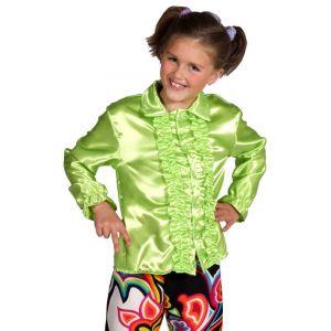 Chemise Enfant Disco Verte Taille 116
