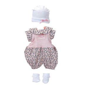Habillage poupée Petitcollin Bibichou 35 cm : Mia - Fille