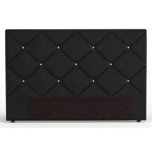 t te de lit noire comparer 97 offres. Black Bedroom Furniture Sets. Home Design Ideas