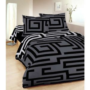 housse de couette 240 260 100 polyester comparer 36 offres. Black Bedroom Furniture Sets. Home Design Ideas
