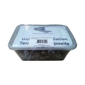 100 clips et vis inox pour lame de terrasse composite alvéolaire Greendeck R