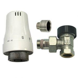 robinet thermostatique radiateur laiton comparer 128 offres. Black Bedroom Furniture Sets. Home Design Ideas