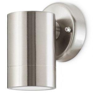 Applique extérieure LED Blooma Candiac chrome 380lm IP44