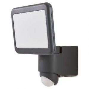 Projecteur à détection LED Blooma Delson anthracite 20W IP44