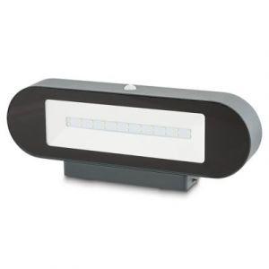 Applique extérieure à détection solaire LED Blooma Noorvik anthracite IP44