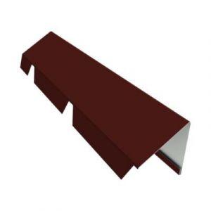 Faitière simple 2 1 m PS40 rouge 8012