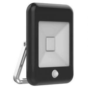 Projecteur LED à détection Sampa Helios Rétro noir 10W