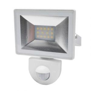 Projecteur à détection LED blanc 10W 800 LM IP44