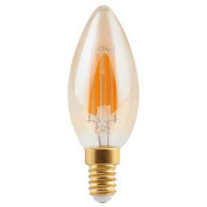 Ampoule à filament flamme LED Diall E14 5W=35W blanc chaud