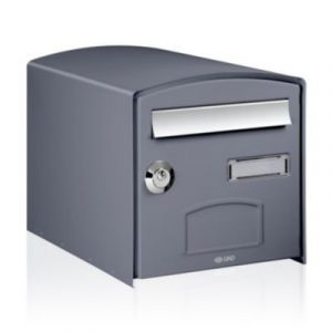 Boite aux lettres 2 portes gris comparer 43 offres - Boite aux lettres 2 portes gris anthracite ...