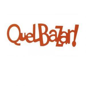 Mot décoratif orange Quel bazar