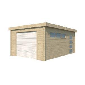 Garage bois Nacka 2 19 17m²