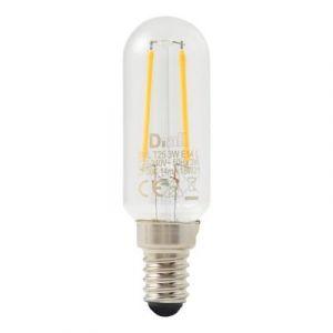 Ampoule LED Diall à filament T25 E14 3W=25W blanc chaud