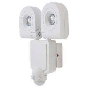 Projecteur LED à détection Blooma Dryden blanc 2 x 10W IP44