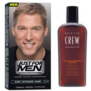Promo : COLORATION CHEVEUX & SHAMPOING Blond - PACK-Just For Men
