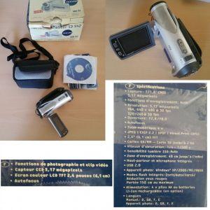 YAKUMO mini camescope numérique 5.1 mégapixels écran 2.4 pouces - Occasion