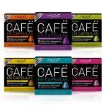 VIAGGIO ESPRESSO - 60 capsules de café compatibles avec Nespresso - SÉLECTION CLASSIQUE   Comprend Ristretto Intense Arabica Espresso Décaféiné Lungo Capsule Aromatisée Pack (Balnes Europe SL, neuf)