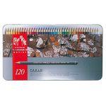 Caran d'ache Crayons couleurs PABLO boite métal de 120 couleurs (banging bargins, neuf)