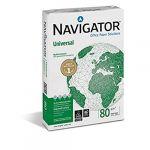 Navigator 340192 Ramette de 500 feuilles Format A3 80 g Blanc Lot de 5 (cartoleriacartashop, neuf)