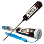 Digital thermomètre numerique sonde inox cuisson viande BBQ Barbecues maison cuisine (MoonPeek, neuf)