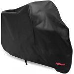 Housse de Protection pour Moto Couverture Imperméable en Polyester (245*105*125cm) (MAKAO, neuf)