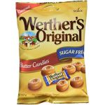 Werther's Original - Bonbons sans sucre - 5 sacs de 80g (The Sweethouse, neuf)